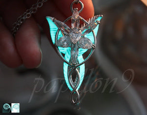 Angel Pendant Glow in the Dark / Angel Necklace /