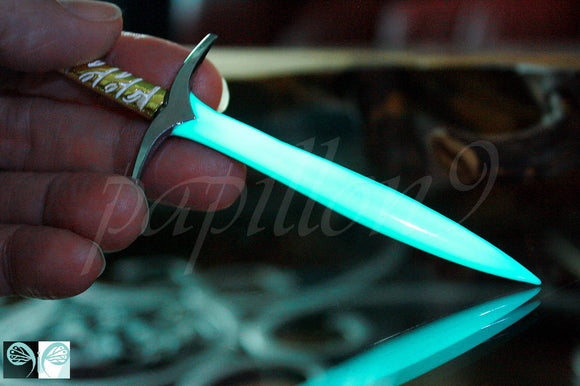 Sword Keychain Sword Glow in the Dark / Elfic Sword / Medieval /