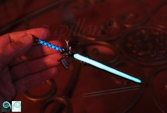 Zelda Sword Glow in the Dark / Keychain Sword / The Legend of Zelda /