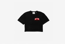 Load image into Gallery viewer, Love Letters Remix Edition Crop Top black