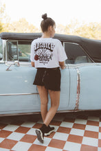 Load image into Gallery viewer, Love Letters Remix Edition Crop Top white