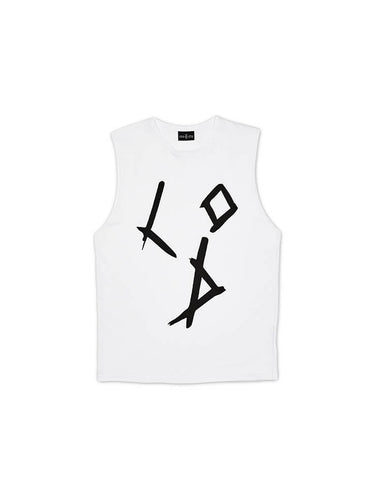 Loco Dice Tank Top white