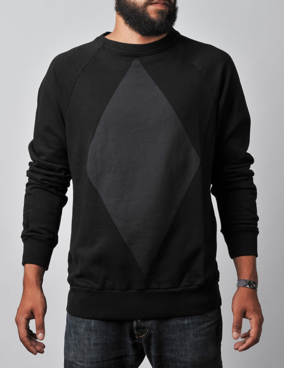 Diamond Sweater black/black