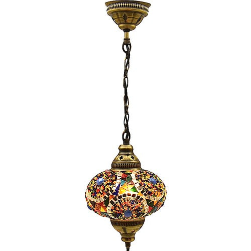 Large Authentic Ceiling Pendant Chandelier Mosaic Lamp Night Light