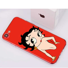 Betty Boop Style Phone Cases for Apple iPhone
