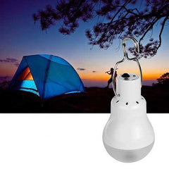 Solar-Powered LED Outdoor Lamp
