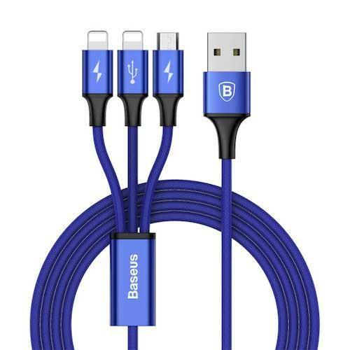 Baseus 3 in 1 USB Charger Cable