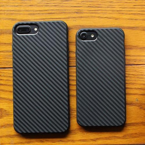 Carbon Fiber Texture Shockproof iPhone Cover