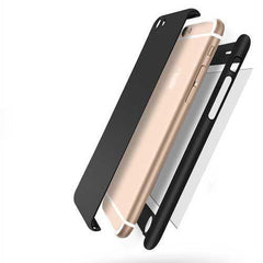 360 Degree Full Cover Tempered Glass iPhone Case