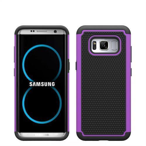 2 in 1 Samsung Galaxy Shockproof TPU Silicone Case