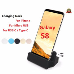 Type C Dock USB Charger