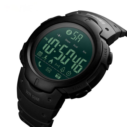 Digital Pedometer Calorie Counter Bluetooth Sport Watch