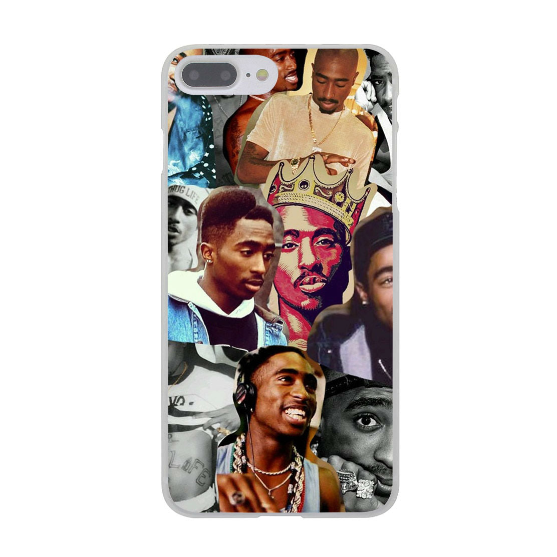 Tupac Shakur Hard Cover iPhone Case