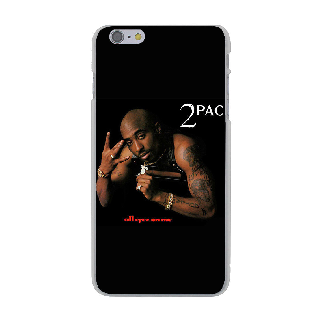 buy popular cb060 ac690 Tupac Shakur Hard Cover iPhone Case