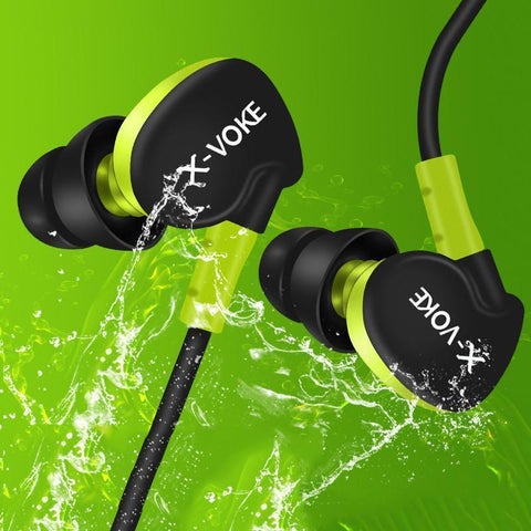 Waterproof Noise-Cancelling Sports Earphones