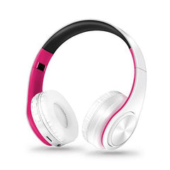 Bluetooth Foldable Headphones with Side Control Pad