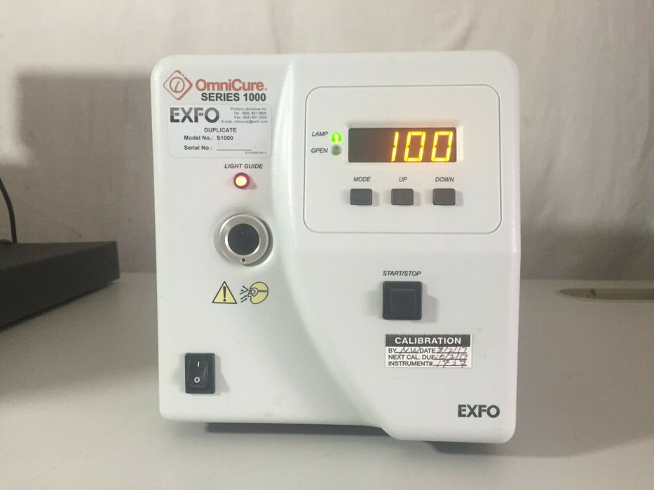 EXFO Omnicure Series 1000 S1000-IB UV Light Source