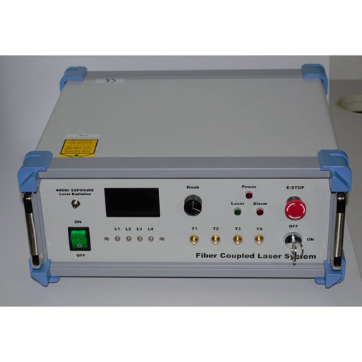 Multi-wavelength  Fiber Coupled or Free Space Output Laser System
