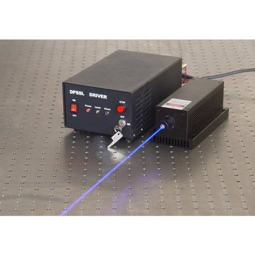 457 nm LD Pumped All-Solid-State Low Noise Blue Laser MLL-N-457/1000 ~ 2000 mW
