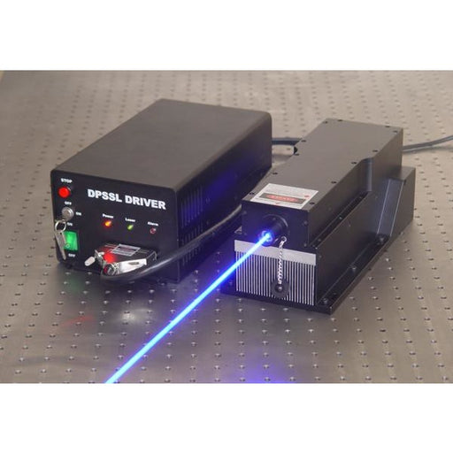457 nm LD Pumped All-Solid-State Low Noise Blue Laser MLL-W-457/2000 ~ 10000 mW