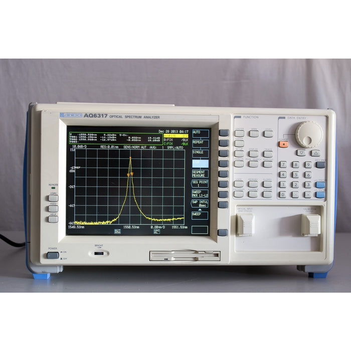 ANDO AQ6317 Optical Spectrum Analyzer