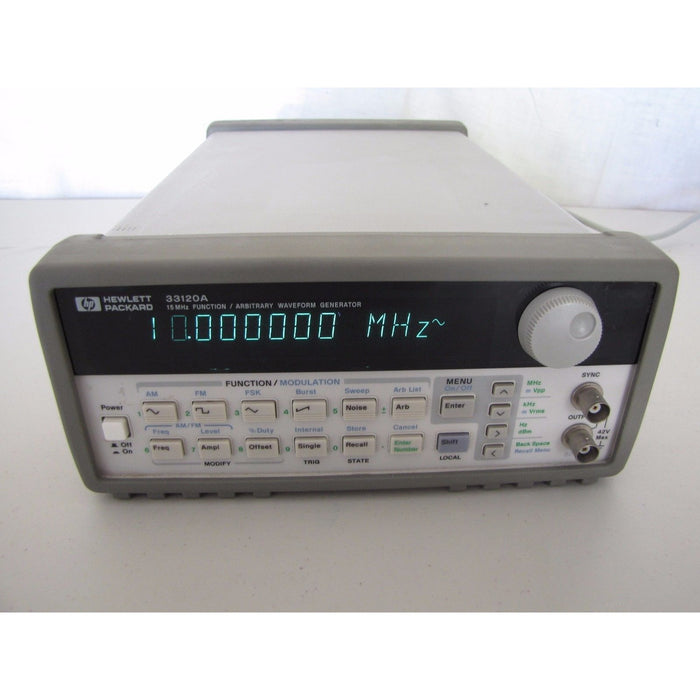 33120A 15 MHz Function ARBITRARY WAVEFORM GENERATOR