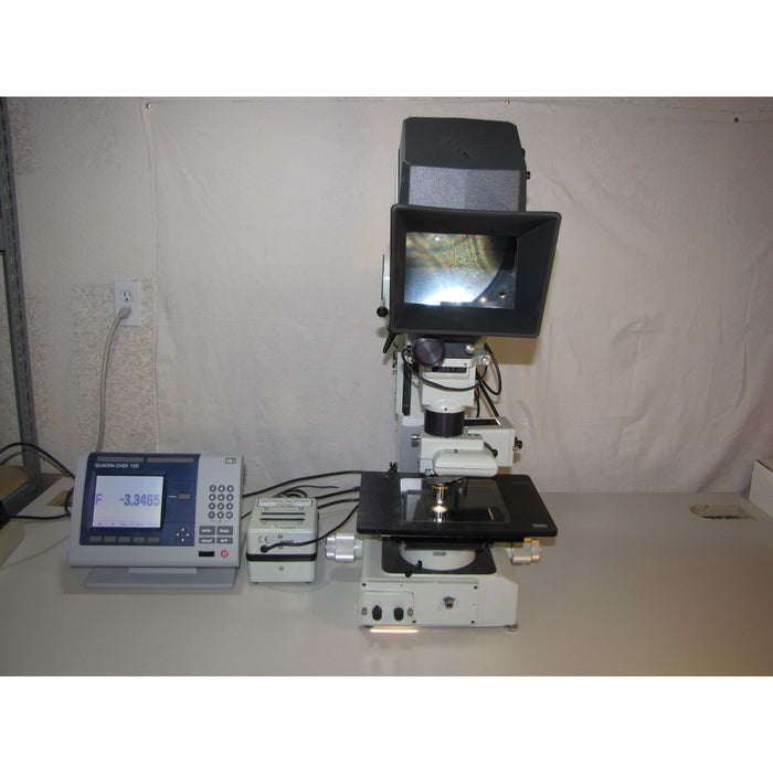 5e Vision Engineering Dynascope Inspection Microscope With Quadra-Chek 100