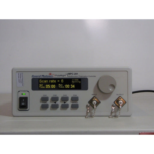 MPC-201 Fiber Optic Multifunction Polarization Control System