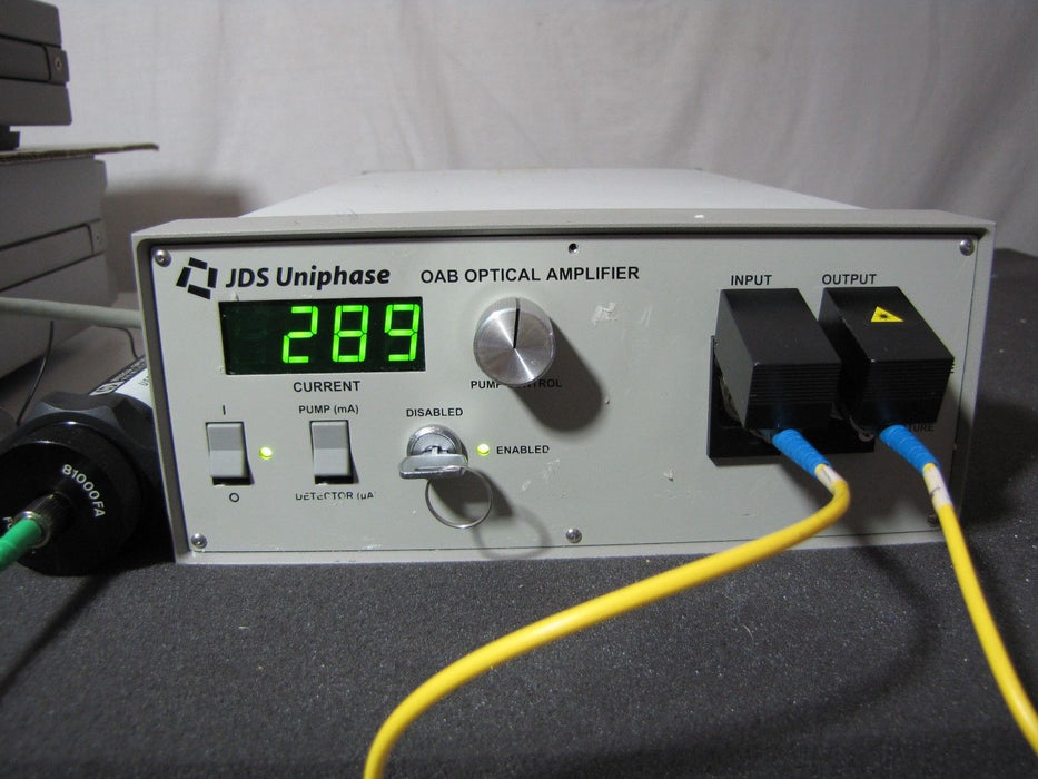 JDS Uniphase OAB1552+1FP2 Erbium-Doped Fiber Amplifier ~ 20dBm