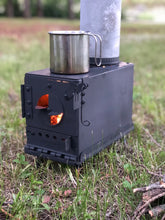 Load image into Gallery viewer, Ammo Can Stove Kit DIY