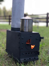 Load image into Gallery viewer, Ammo Can Stove Combo Kit - DIY Kit with Ammo Can