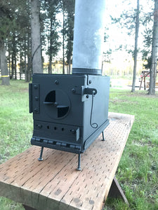 Ammo Can Stove Kit DIY