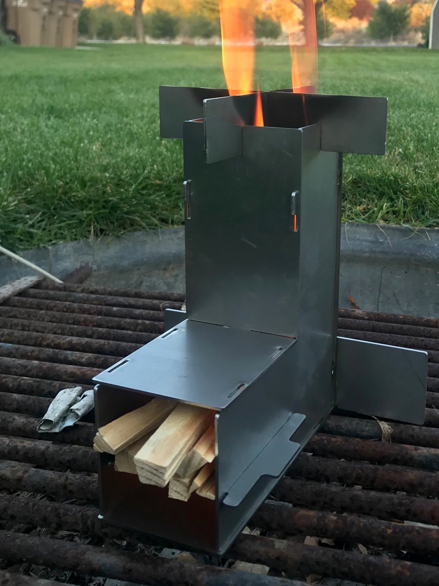 Large Rocket Stove Packaflame