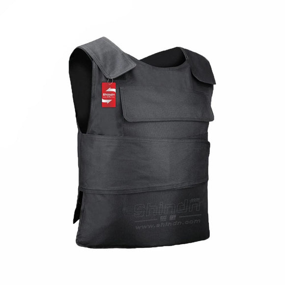 Anti-stab vest Body armor Tactical Vest Bulletproof board Zinc alloy protective interlayer