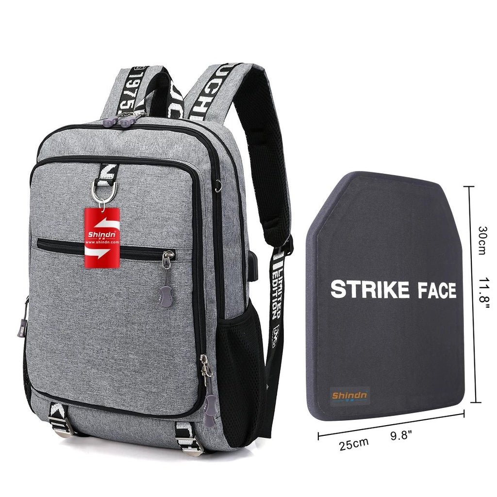 Lightweight bulletproof backpack Ultra-High Molecular Weight Polyethylene bulletproof plate