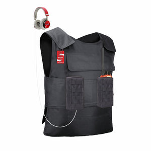 Stab proof vest Shindn Stab Vest Multi-purpose detachable Anti-stab vest black bladerunner clothing and police stab vest free shipping - shindn