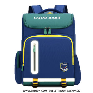 bulletproof backpack Student safety school bag Shindn UHMWPE backpack kids plate carrier school bag for girls and school bag for boys Kevlar - shindn