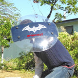 Shindn Enhanced Plexiglass Riot Shield Large Transparent Round Shield Spartan Warrior Shield Hound Dog Training Shield