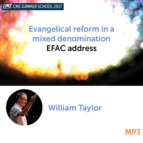 Evangelical reform in a mixed denomination