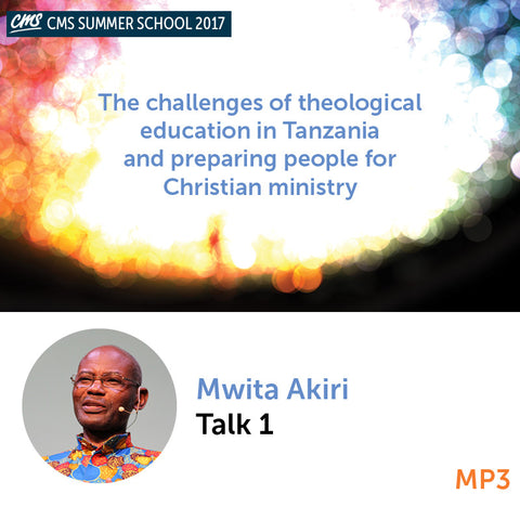 The challenges of theological education in Tanzania and preparing people for Christian ministry