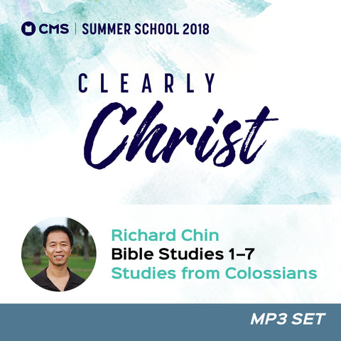 CMS Summer School 2018 - Bible Study Talks