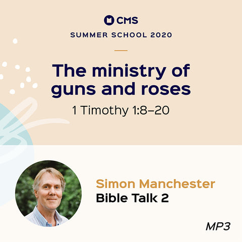 CMS Summer School 2020 – The ministry of guns and roses