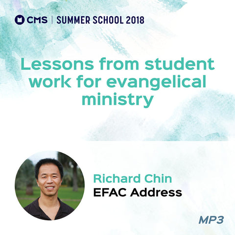 CMS Summer School 2018 - Lessons from student work for evangelical ministry