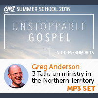 CMS Summer School 2016 - Greg Anderson Talks