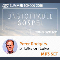 CMS Summer School 2016 - Peter Rodgers Talks