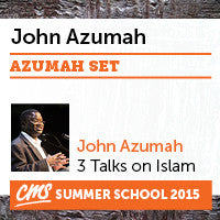 CMS Summer School 2015 John Azumah Talks