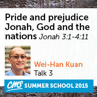 Pride and prejudice - Jonah, God and the nations
