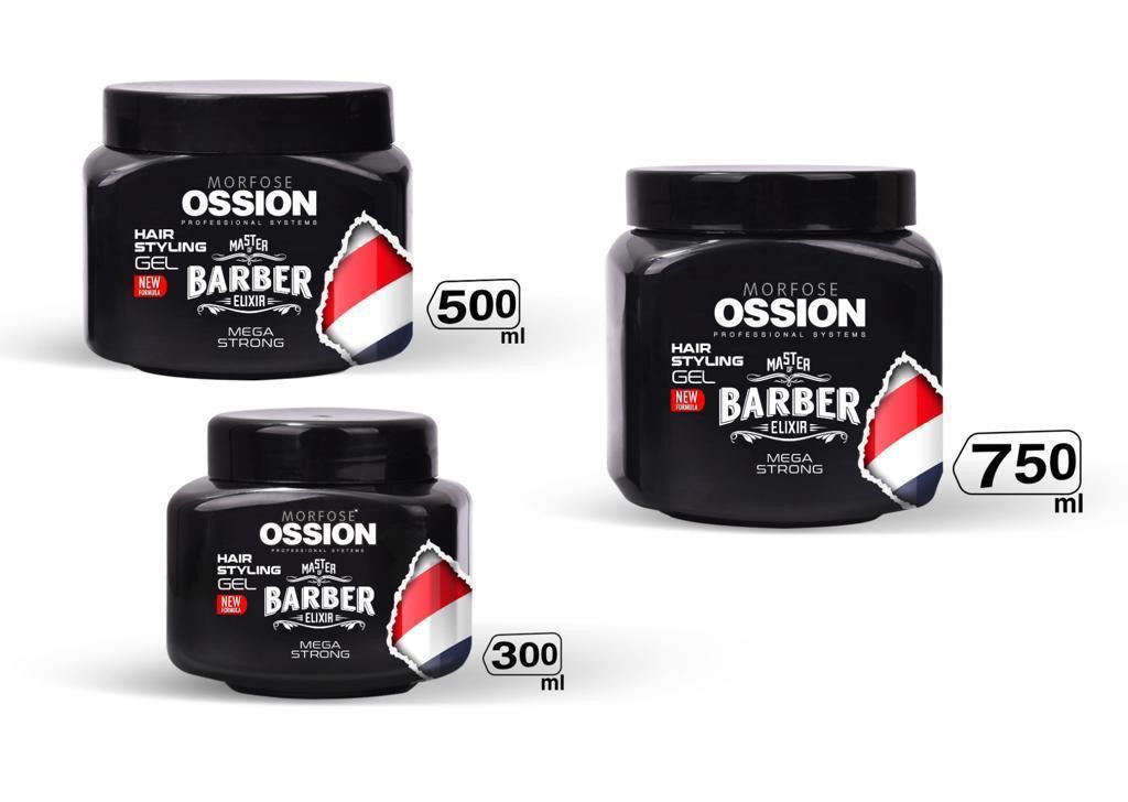 Morfose OSSION Gum Gum Hair Gel Ultra Strong - MorfoseUK