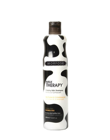 MORFOSE MILK THERAPY MILK SHAMPOO 400ML