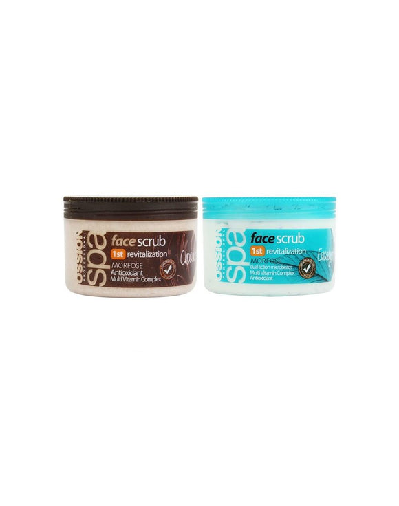 OSSION SPA FACE SCRUB 300ML - MorfoseUK